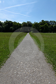 Long Path Ahead Stock Photography - Image: 20114652