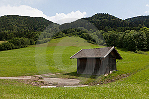Hut In The Mountains Stock Photography - Image: 20114982