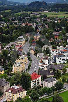 Salzburg Cityscape Royalty Free Stock Photography - Image: 20115627