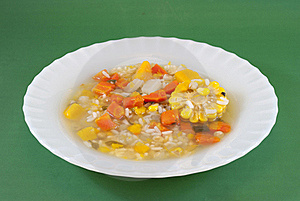 Vegetable Soup Stock Image - Image: 20115661