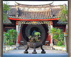 Chinese Temple Stock Image - Image: 20116411