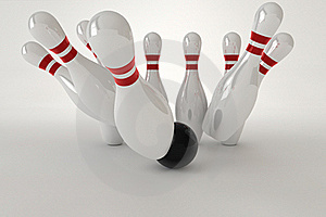 Bowling Pins Royalty Free Stock Photography - Image: 20117147