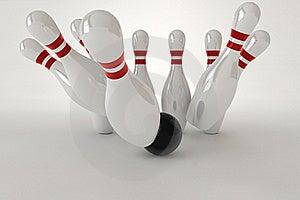 Bowling Pins Royalty Free Stock Photography - Image: 20117147