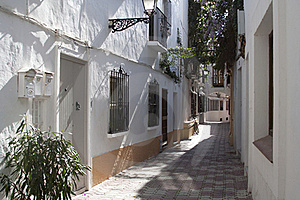 Mediterranean Alley Royalty Free Stock Photography - Image: 20117357
