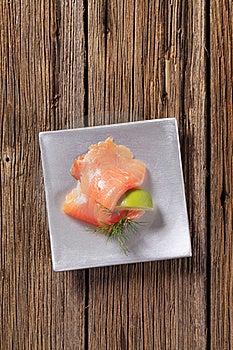 Smoked Salmon Royalty Free Stock Photo - Image: 20118565