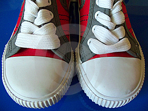 Sport Shoes Close Up Royalty Free Stock Photo - Image: 20120235