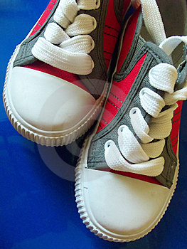 Sport Shoes Close Up Royalty Free Stock Photos - Image: 20120258