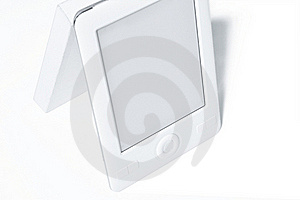 E-book Replacing Conventional Printed Book Royalty Free Stock Image - Image: 20120956
