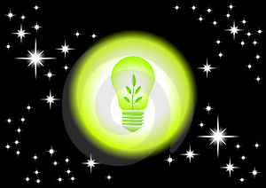 Eco Bulb Stock Image - Image: 20121711