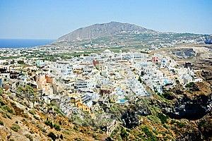 Fira - The Capital Of Santorini Island Royalty Free Stock Image - Image: 20122196