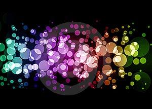 Rainbow Sparkle Stock Photo - Image: 20125050