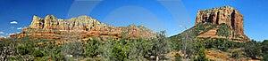 Panoramic Of Red Rocks In Sedona AZ Stock Photo - Image: 20126360