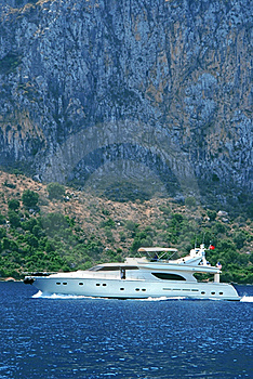Motorboat 3 (yacht) Stock Photos - Image: 20126813