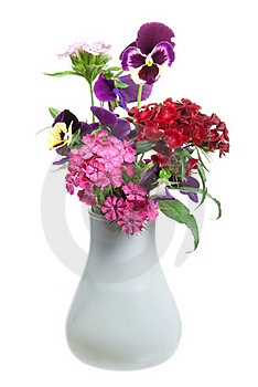 Bunch Of Flowers Royalty Free Stock Image - Image: 20127166