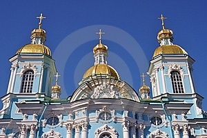 Sankt Petersburg Sightseeing Orthodox Church Stock Photos - Image: 20127653