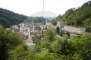 Panorama Of Srebrenica, Bosnia And Herzegovina Stock Images - Image: 20132424
