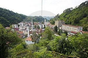 Panorama Of Srebrenica, Bosnia And Herzegovina Stock Images - Image: 20132424