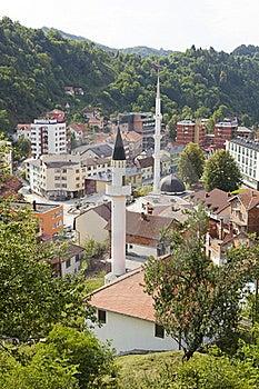 Panorama Of Srebrenica, Bosnia And Herzegovina Stock Photos - Image: 20132443
