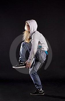 Modern Dance. Hip-hop. Stock Photo - Image: 20132910