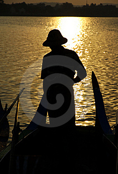 Row Wooden Boat Royalty Free Stock Photos - Image: 20136798