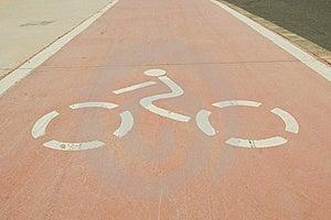 Cycle Path Stock Image - Image: 20137551