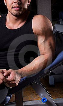 Athlete Is Posing Stock Photography - Image: 20138002