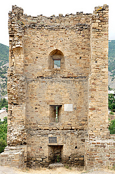 Genoese Fortress. Crimea. Royalty Free Stock Photos - Image: 20138738