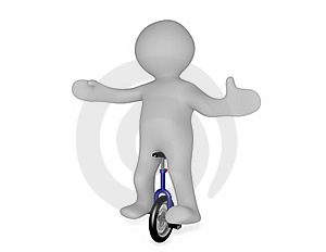 Unicycle Stock Images - Image: 20141284