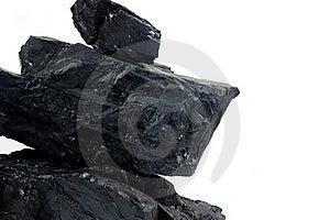 Pile Lumps Of Coals Stock Photo - Image: 20143030