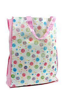 A Colorful Cotton Bag Royalty Free Stock Photo - Image: 20143425