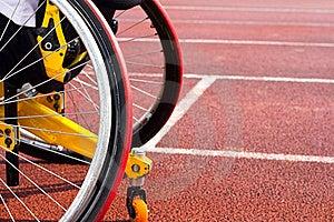 Wheelchair Sportsmen Stock Image - Image: 20145621