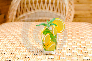 Glass Of Limonade On The Table Royalty Free Stock Photos - Image: 20146958
