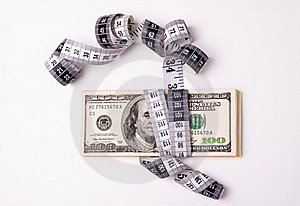 Money Measurment Royalty Free Stock Photography - Image: 20147677