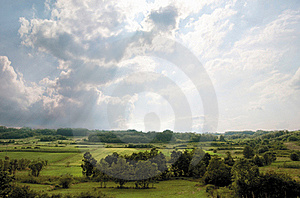 Forested Landscape Royalty Free Stock Photo - Image: 20150355