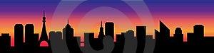 City Silhouette Stock Image - Image: 20151071