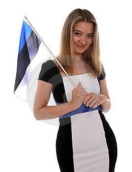 Happy Estonian Woman Stock Image - Image: 20152541