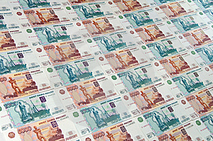 Russian Ruble Stock Photo - Image: 20153310