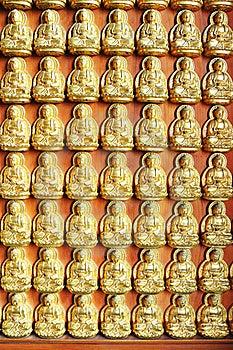10000 Golden Buddha Stock Images - Image: 20153594