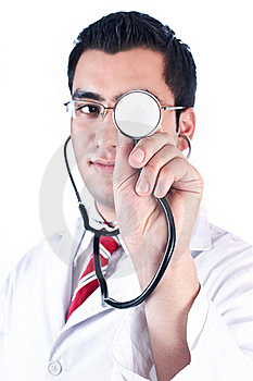 Doctor Royalty Free Stock Photos - Image: 20154768