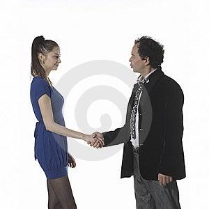 Handshake Greetings Royalty Free Stock Photography - Image: 20156057