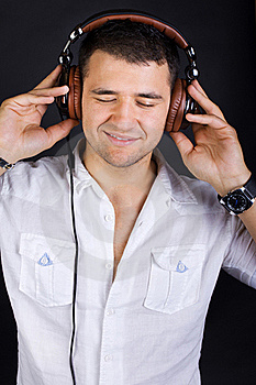 Sexy Male DJ Royalty Free Stock Images - Image: 20163449