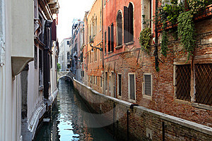 Venetian Street Stock Images - Image: 20164814