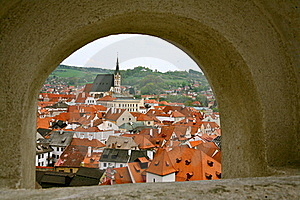 Small City Of The Czech Republic Stock Photography - Image: 20166692