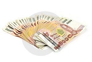1000 Baht Banknotes Royalty Free Stock Image - Image: 20169616