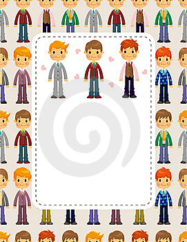 Young Boy Card Royalty Free Stock Images - Image: 20169899