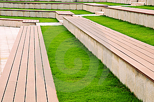 Grass And Ladder Royalty Free Stock Photography - Image: 20170027