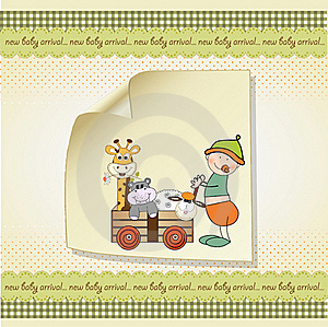 Baby Anniversary Card Stock Images - Image: 20171254