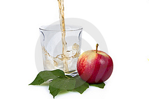Pouring Apple Juice Royalty Free Stock Image - Image: 20172906