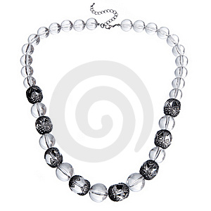 Glass Necklace Stock Images - Image: 20173924