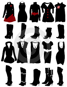 Women Clothes Royalty Free Stock Image - Image: 20174206